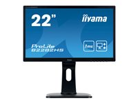 iiyama ProLite B2282HS-B1 22 Inch Full HD Black, HDMI, Height Adjustable