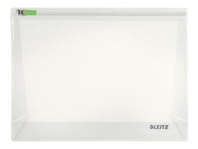 Leitz Complete Traveller M - Brašna na zip na dokumenty - rozevíratelná - 220 x 175 mm - průsvitná