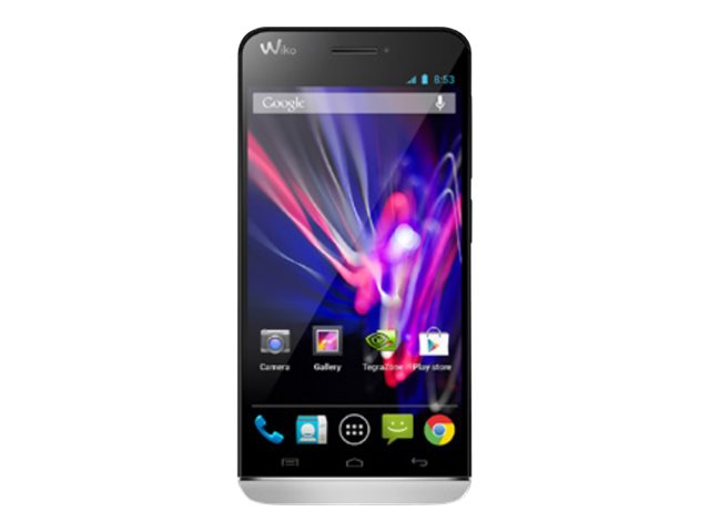 Wiko Wax - blanc - 4G HSPA+, LTE - 4 Go - GSM - smartphone Android