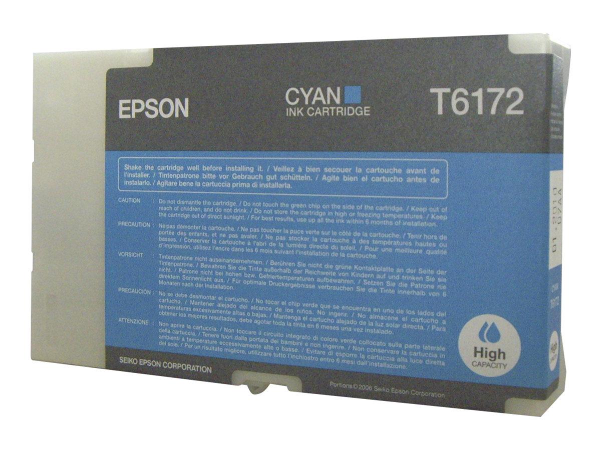 Epson T6172 - haute capacité - cyan - originale - cartouche d'encre