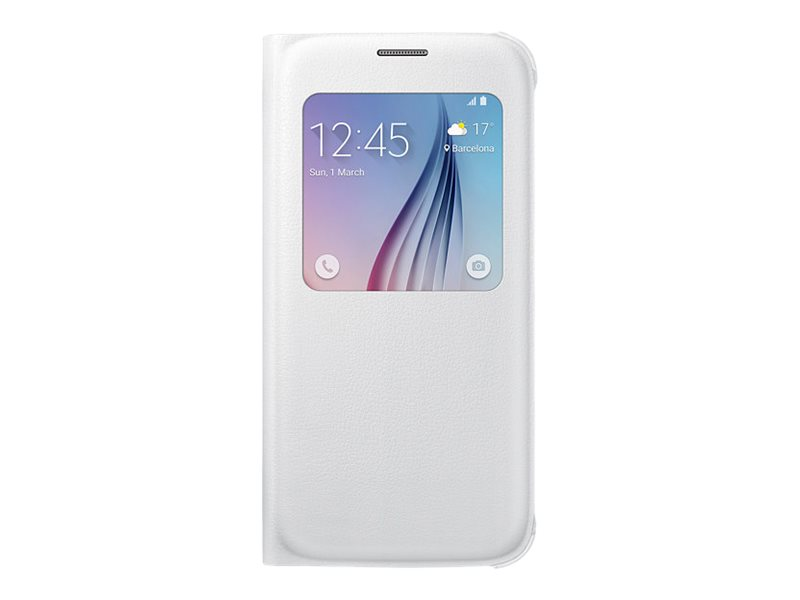 Samsung S View Cover EF-CG920P - Protection à rabat pour GALAXY S6 - différents coloris