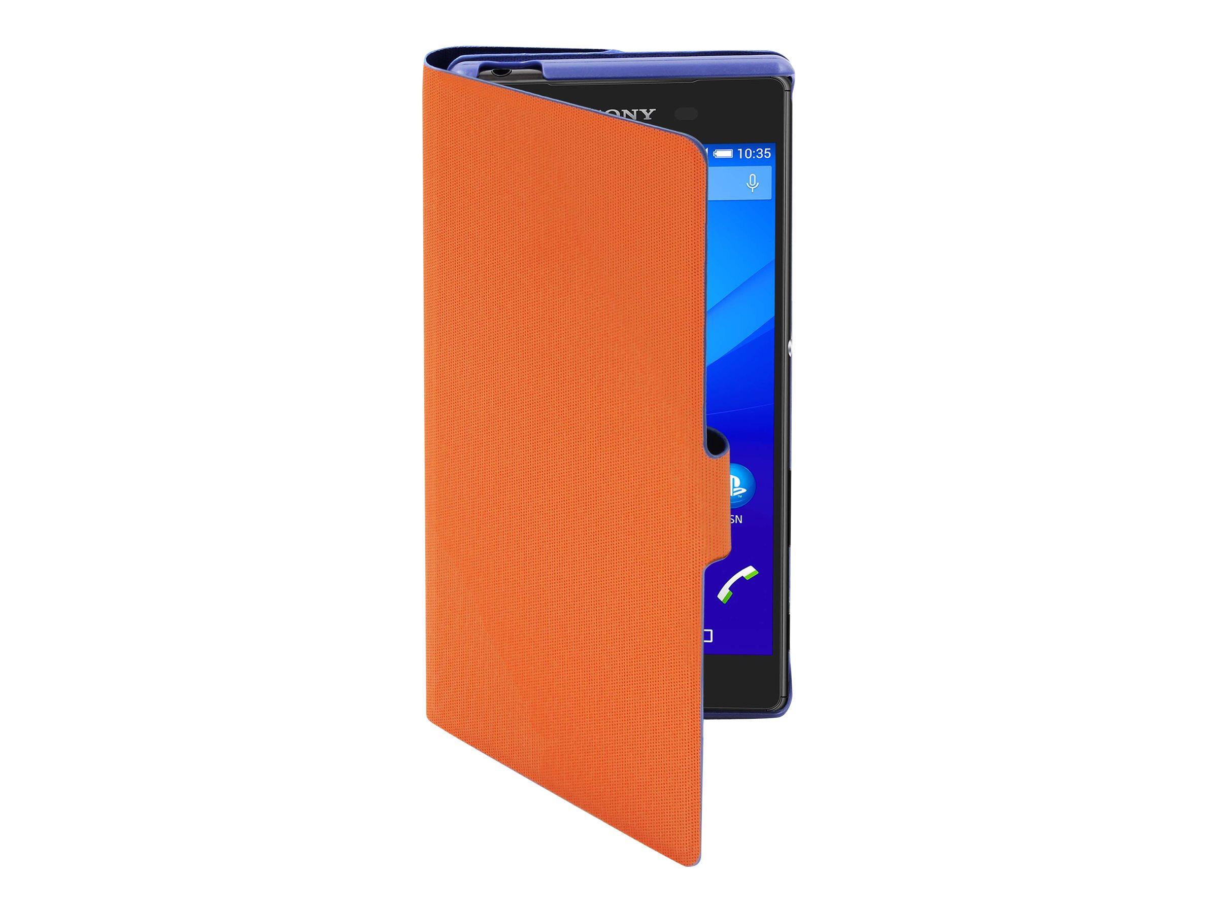 Muvit MFX Caméléon Folio - 2 Protections à rabat pour Sony XPERIA Z5 - bleu, orange