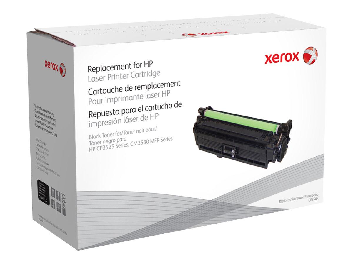 Xerox - noir - cartouche de toner (équivalent à : HP CE250X)