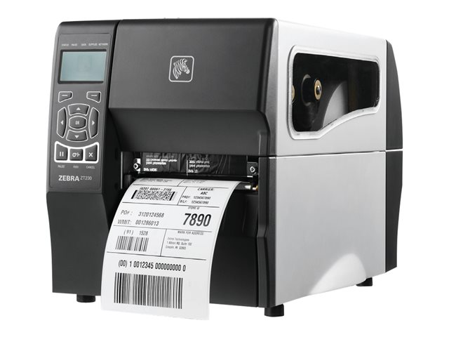 Image of Zebra ZT200 Series ZT230 - label printer - monochrome - thermal transfer