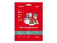 Canon Photo Frame/Calendar Pack PFC-101 - 130 x 180 mm - 275 g/m² - 20 feuille(s) kit papier photo