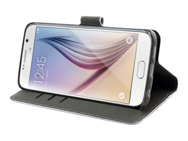 Muvit Wallet Folio - Protection à rabat pour Samsung GALAXY S6 - blanc
