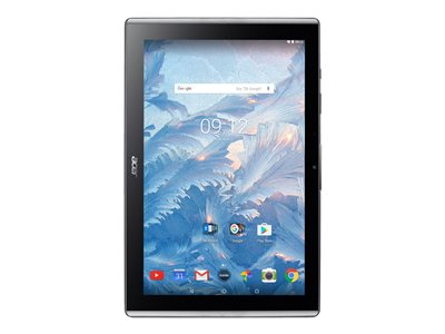 "Acer ICONIA ONE 10 B3-A40-K5S2 - Tablet - Android 7.0 (Nougat) - 32 GB eMMC - 10.1"" IPS (1280 x 800) - USB host - microSD slot - black"