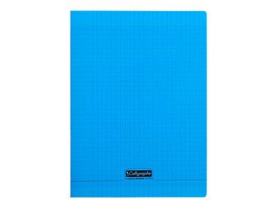 Calligraphe 8000 - Cahier - 24 x 32 cm - 140 pages- grands carreaux - disponible dans différentes couleurs