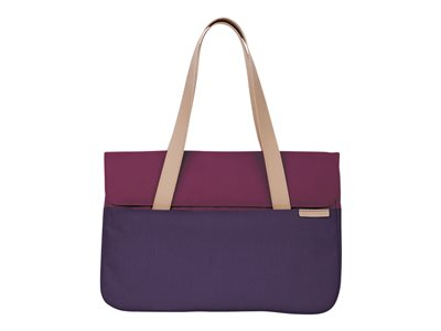 "STM Grace Deluxe - Notebook carrying case - 13"" - dark purple"