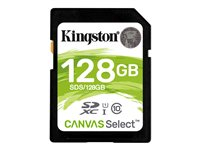 Kingston Canvas Select - Tarjeta de memoria flash - 128 GB