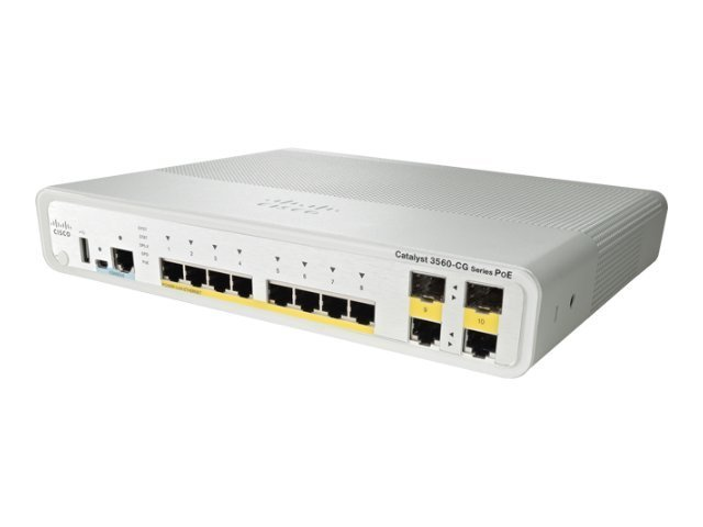 Cisco Systems Cat 3560C Swch 8 Fe Poe 2 X Dual Upl