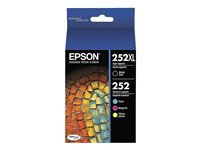 Epson T252XL Ink Cartridge - Black/Colour - T252XL-BCS