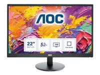AOC E2270SWHN 21.5 Inch LCD Widescreen Monitor