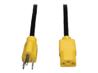 Tripp Lite Standard Computer Power Cord 10A 18AWG 5-15P to C13