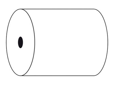 Exacompta - Bobines papier - 1 pli - Rouleau de 76 x 70 x 12 mm - par 10 ou par 50