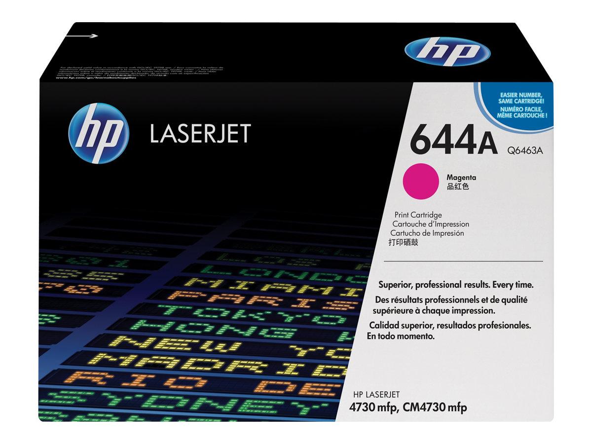 HP 644A - magenta - originale - LaserJet - cartouche de toner ( Q6463A )