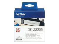 Brother DK-22205 Rulle (6,2 cm x 30,5 m) termokopieringspapir