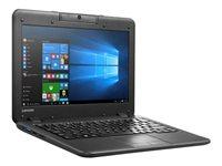 "Lenovo N22 80S6 - Celeron N3060 / 1.6 GHz - Win 10 Pro 64-bit - 2 GB RAM - 32 GB eMMC - 11.6"" 1366 x 768 (HD) - HD Graphics - Wi-Fi"