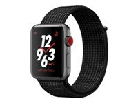 Apple Watch Nike+ Series 3 (GPS + Cellular) 38 mm rumgråt aluminium