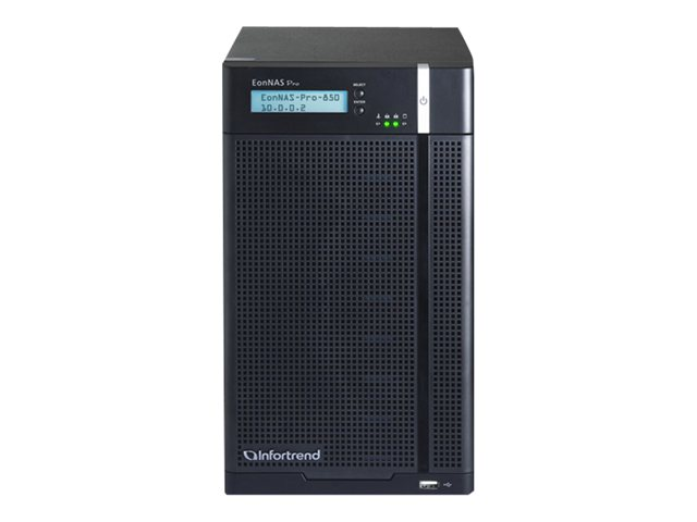 Infortrend EonNAS Pro Series 850 2   NAS server   24 TB