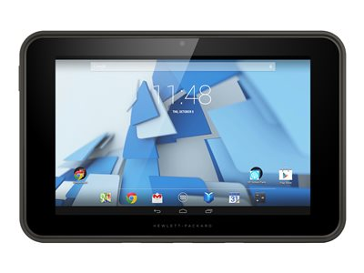 "HP Pro Slate 10 EE G1 - Tablet - Android 4.4 (KitKat) - 16 GB eMMC - 10.1"" IPS (1280 x 800) - microSD slot - lava gray"