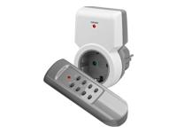 goobay NK FUNK II STARTERKIT 1+1 Automatisk strøm kontakt AC 230 V