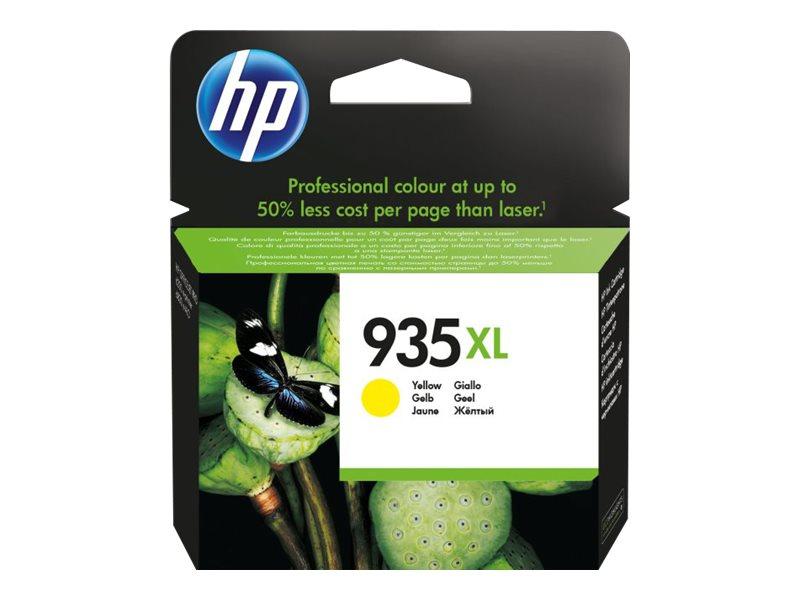 HP 935XL - à rendement élevé - jaune - originale - cartouche d'encre