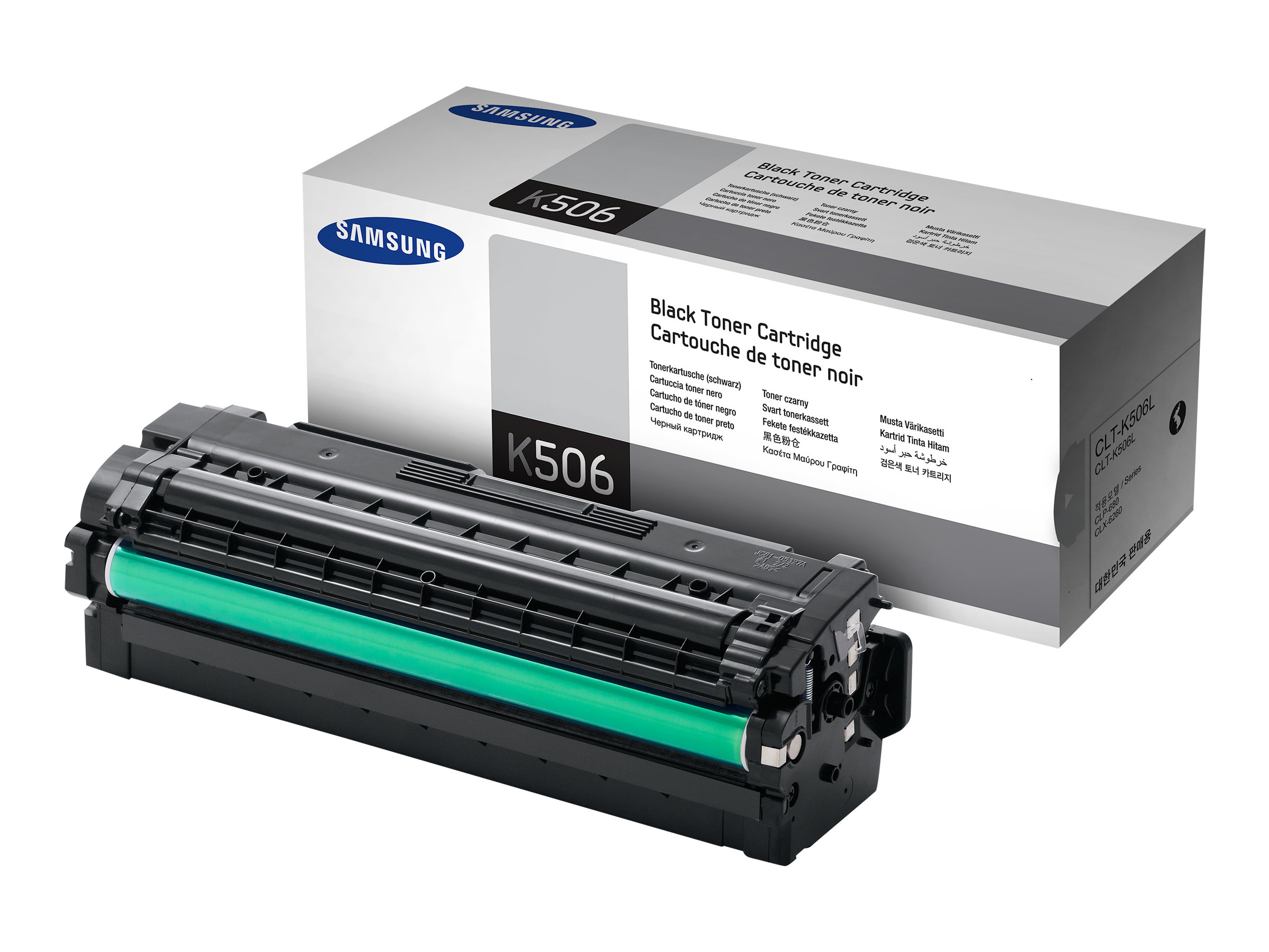 Samsung CLT-K506S - noir - originale - cartouche de toner