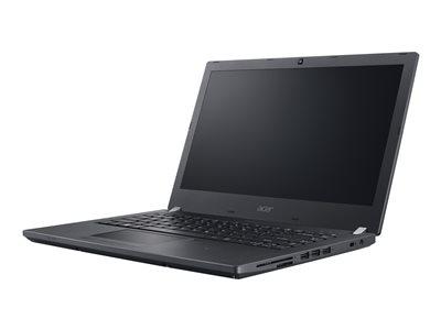 """Acer TravelMate P459-M-52WX - Core i5 6200U / 2.3 GHz - Win 7 Pro 64-bit (includes Win 10 Pro 64-bit License) - 8 GB RAM - 256 GB SSD - 15.6"""" IPS 1920 x 1080 (Full HD) - HD Graphics 620 - Wi-Fi, Bluetooth - black - kbd: US International"""