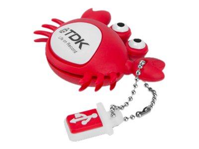 TDK Fun Series Crab - clé USB - 8 Go