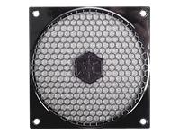 SilverStone FF121 Blæsergitter med filter sort