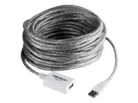 TRENDnet TU2-EX12 USB forlængerkabel USB (han) til USB (hun) USB 2.0
