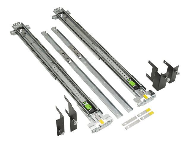 HP Adjustable Rail Rack Kit Flush Mount - tannstangsett B8S55AA
