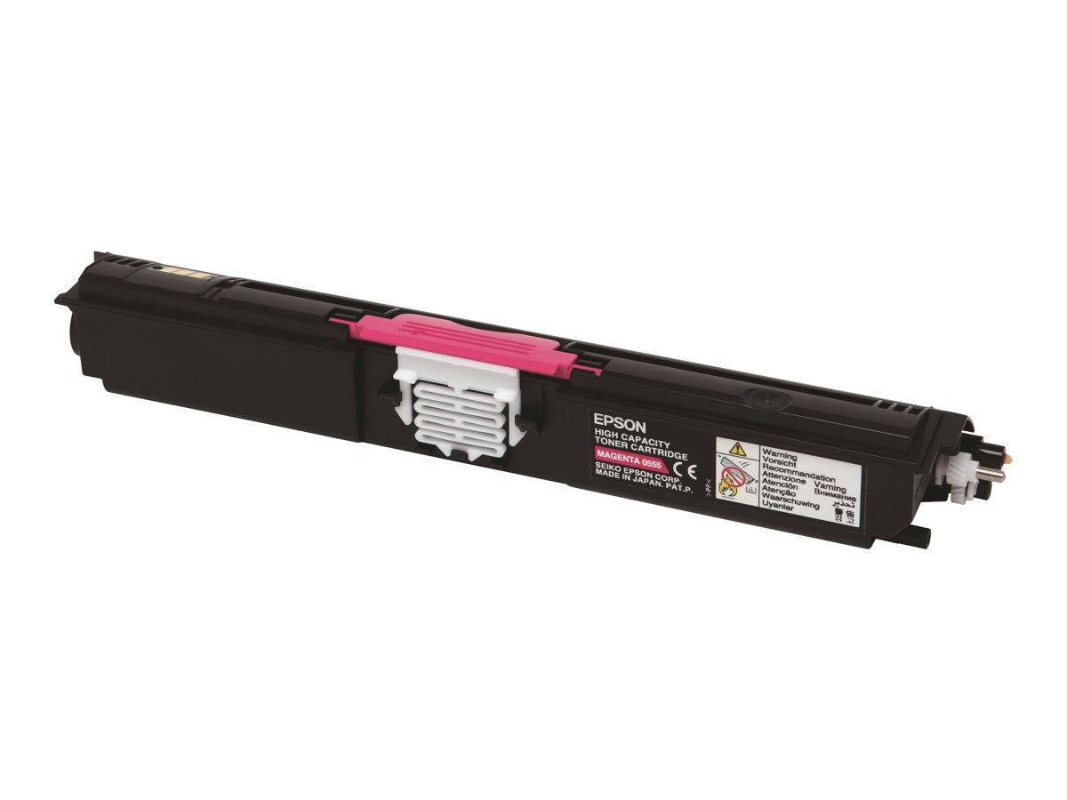 Epson - S050555 - Haute capacité - magenta - originale - cartouche de toner