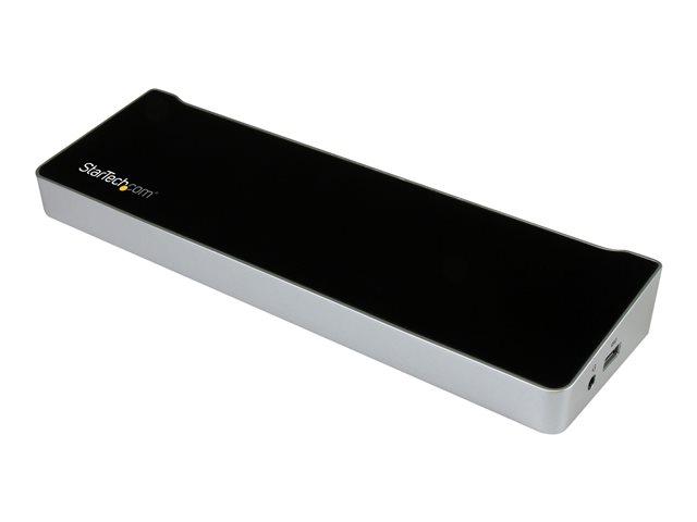 Image of StarTech.com Triple-Video Docking Station for Laptops - USB 3.0 - USB docking station
