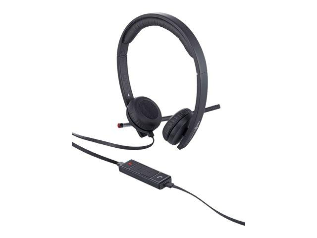 Fujitsu UC&C USB Headset Stereo H650e - casque