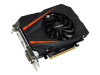 Gigabyte GeForce GTX 1060 Mini ITX OC 3G - Graphics card - GF GTX 1060