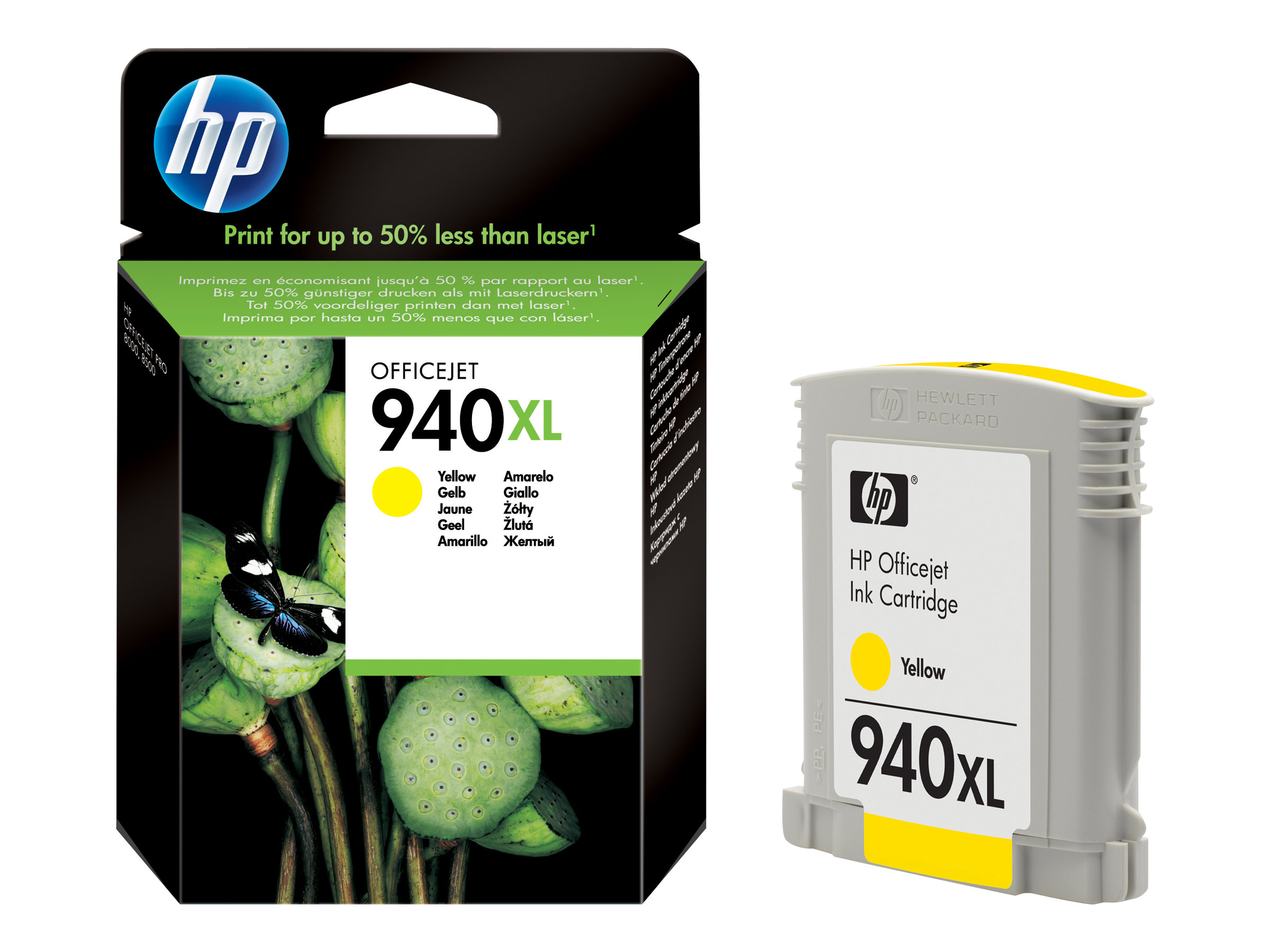 HP 940XL - à rendement élevé - jaune - originale - cartouche d'encre