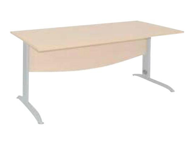 Burocean IDRA - bureau - droit - 120 cm - différentes couleurs disponibles