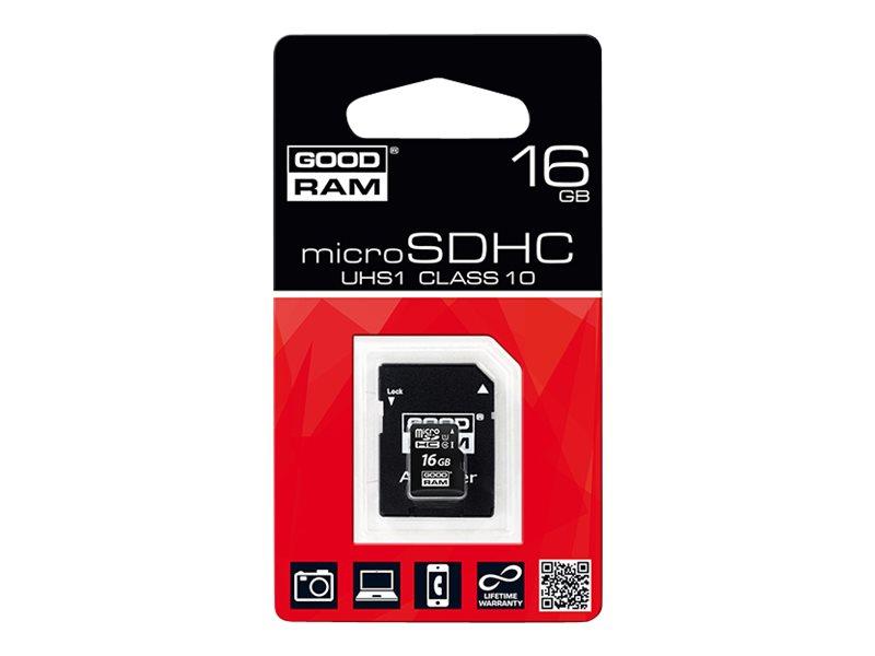 GOODRAM - carte mémoire flash - 16 Go - microSDHC