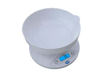 AWS AMW-5KBOWL - Kitchen scales - 2.1 qt - white