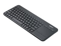 Logitech Teclado Smart TV K400 Plus Black