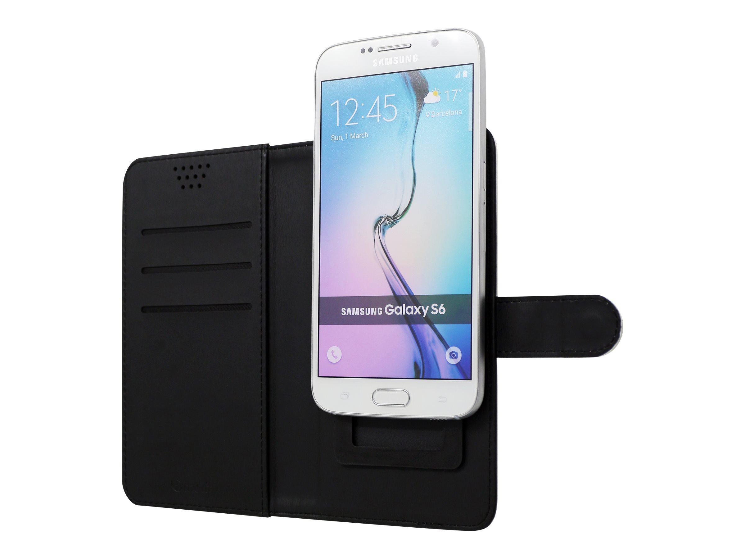 Muvit Universal Slider Case - boîtier de protection protection à rabat pour téléphone portable