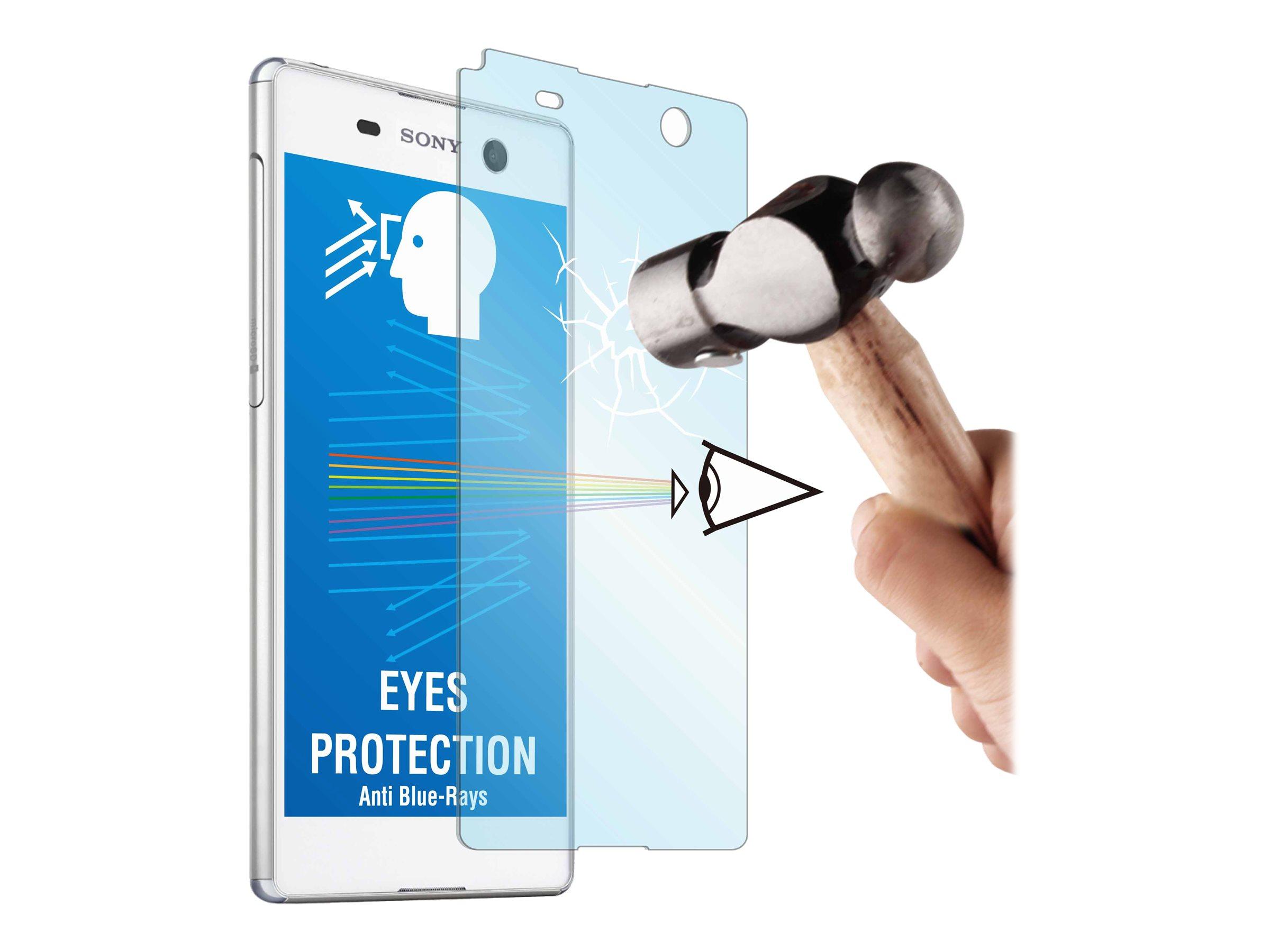 Muvit MFX - 1 film de protection d'écran - verre trempé - pour Xperia M5