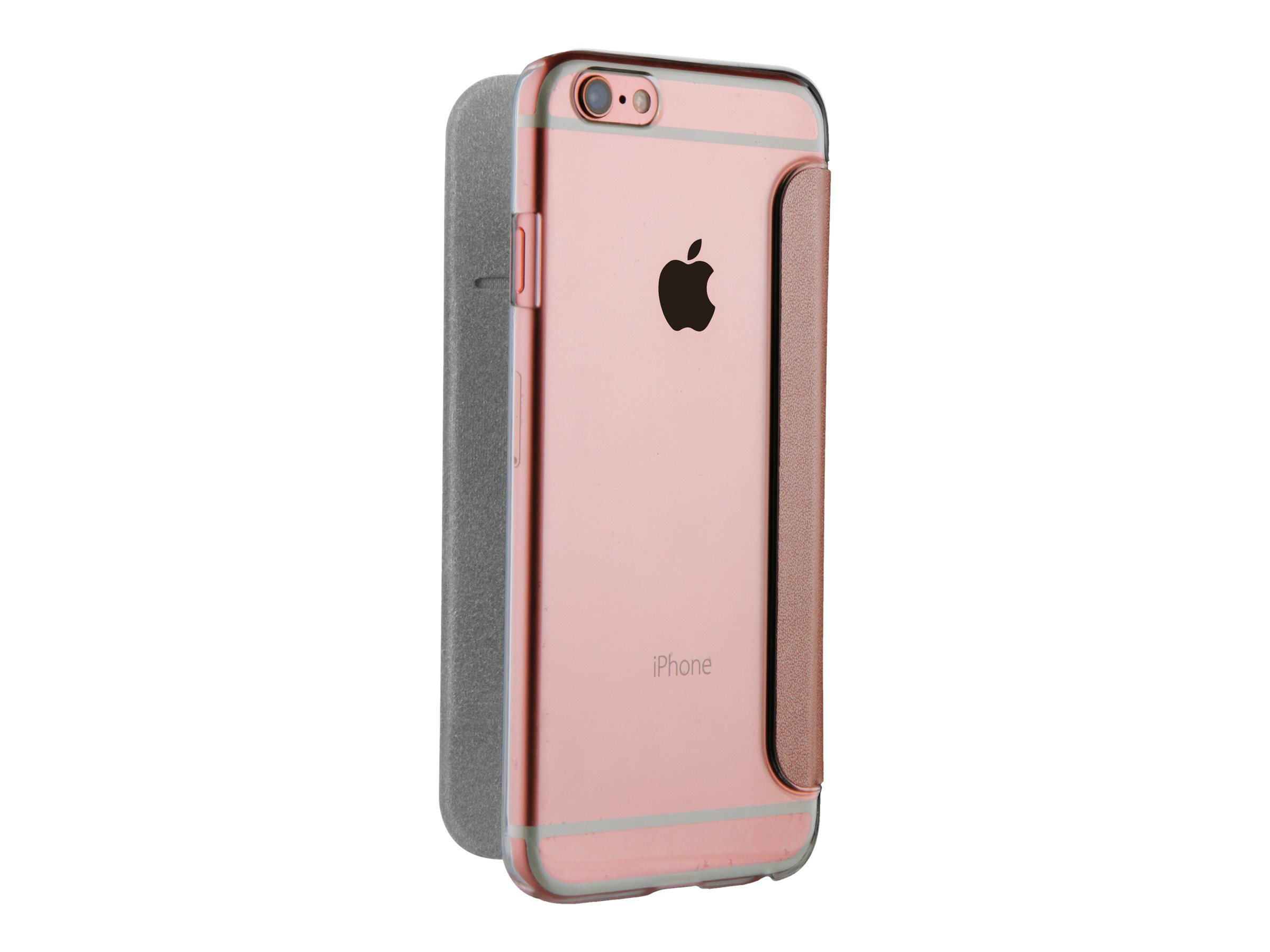 Muvit Folio Case - Protection à rabat pour iPhone 7 Plus - rosegold