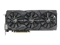 ASUS ROG-STRIX-GTX1080-A8G-11GBPS graphics card Review