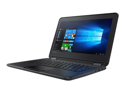 "Lenovo N23 80UR - Flip design - Celeron N3160 / 1.6 GHz - Win 10 Pro 64-bit - 4 GB RAM - 64 GB eMMC - 11.6"" touchscreen 1366 x 768 (HD) - HD Graphics 400 - Wi-Fi"