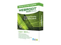 Webroot SecureAnywhere Internet Security Complete 2014 - Box pack ( 1 year ) - 5 devices - Win, Mac, Android, iOS