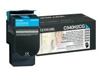 Lexmark - à rendement élevé - cyan - originale - cartouche de toner - LCCP