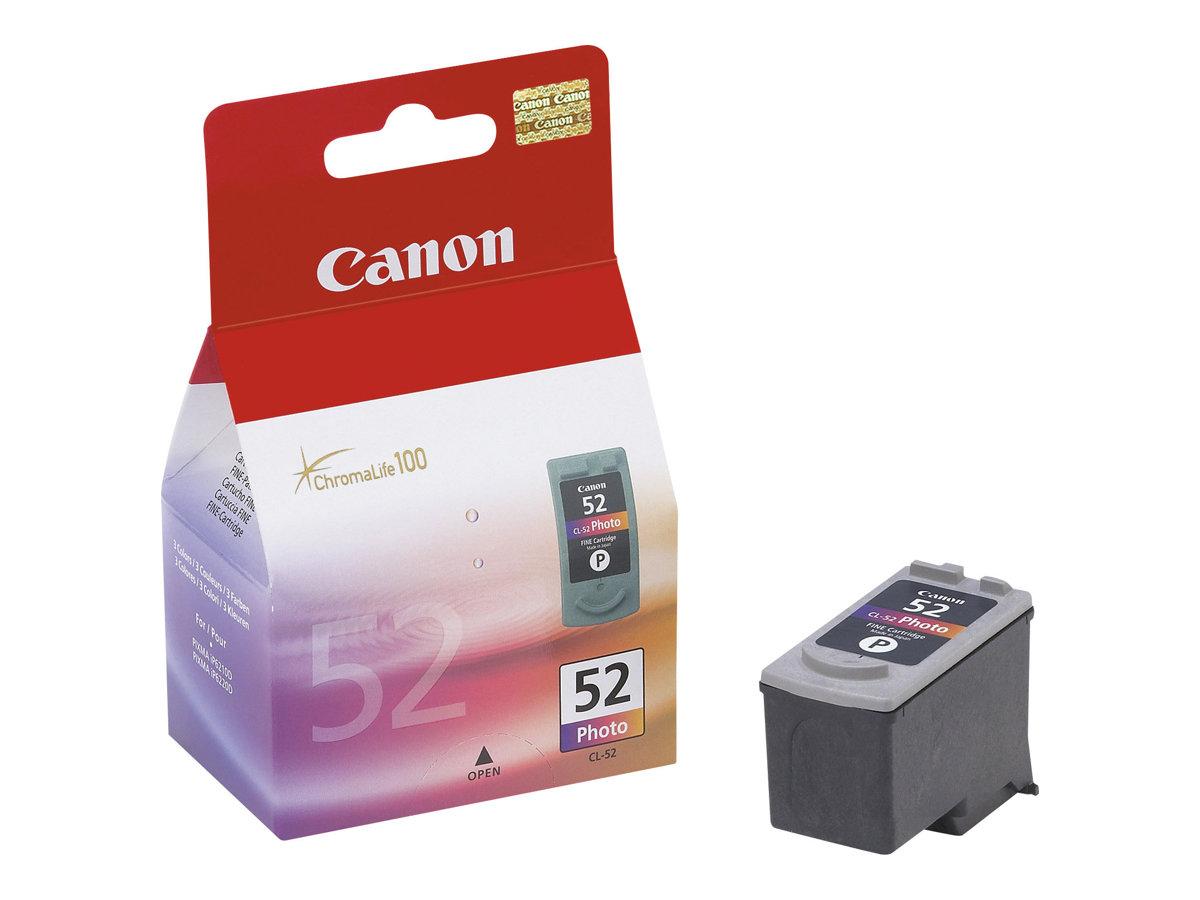 Canon CL-52 - couleur (cyan clair, magenta clair, noir) - original - réservoir d'encre